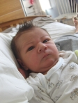 Senan when he was born in 2008