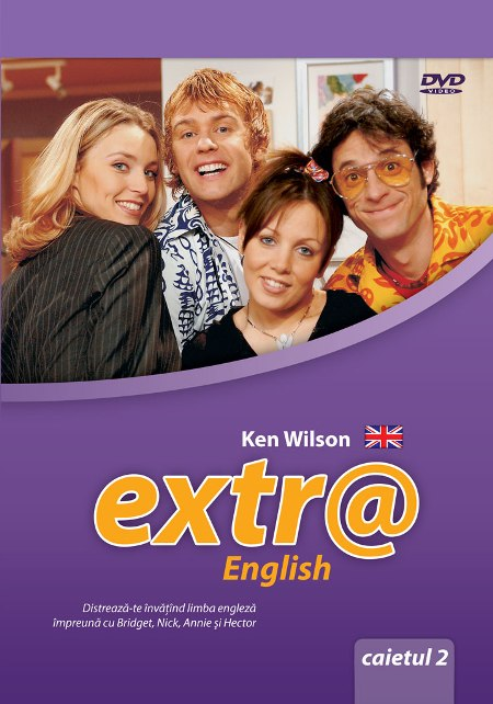 Extr@ English, the Channel 4 TV soap, loosely based on 'Friends'