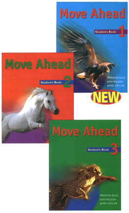 Move Ahead, the Macmillan series written initially for the Middle East. Levels 1-3 were written with Printha Ellis and James Taylor.
