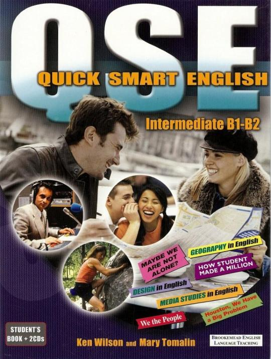 QSE is a three-level series of Trinity Exam coursebooks which can also be used as supplementary skills materials. I wrote the Intermediate level with Mary Tomalin. www.brookemead-elt.co.uk