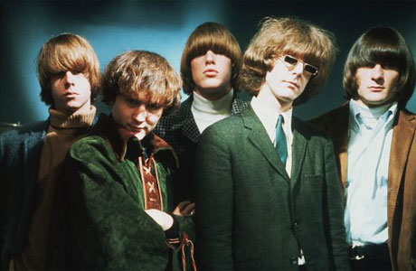 American band The Byrds, with Roger McGuinn second from right