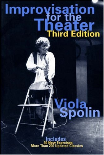 Viola Spolin, pictured on the cover of her book