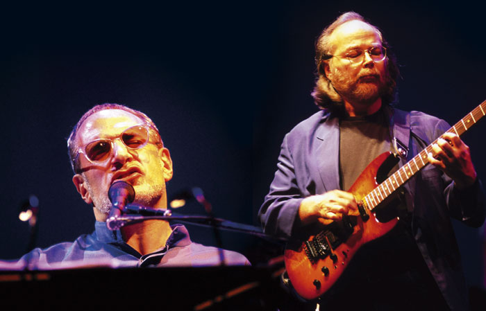 Donald Fagen and Walter Becker, the day before they applied for their Senior Citizen's rail cards