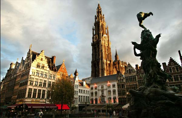 Antwerp - a lively port, great architecture, bars, music, diamonds - what