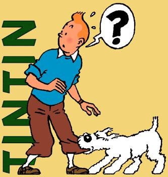 Tintin, created by Belgian genius Hergé (Georges Remi)