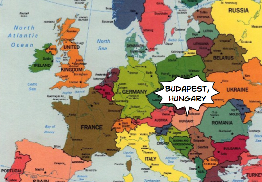 Where Is Hungary Located On A Map Of Europe